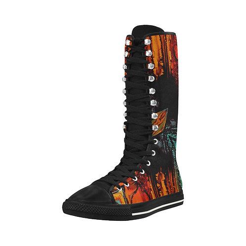 Aztec Long Boots
