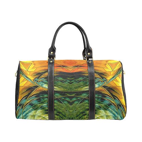 Yellow Kaleidoscope #5 - Waterproof Travel Bag