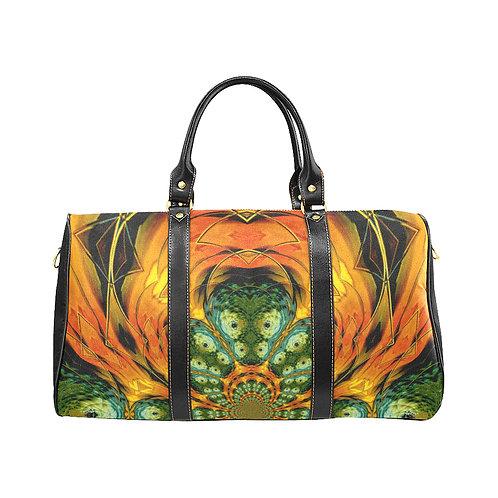 Yellow Kaleidoscope #6 - Waterproof Travel Bag