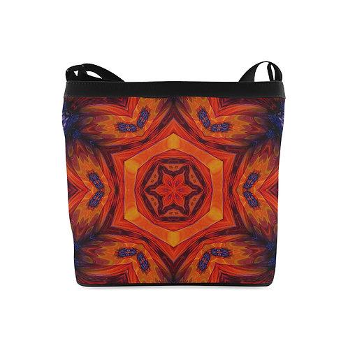 Red Kaleidoscope #6 - Crossbody Bag