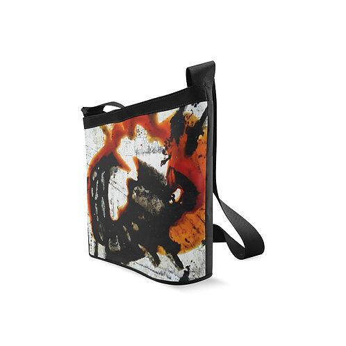 Lizard Crossbody Bag