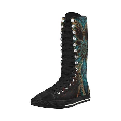 Fractal Goddess - Long Boots