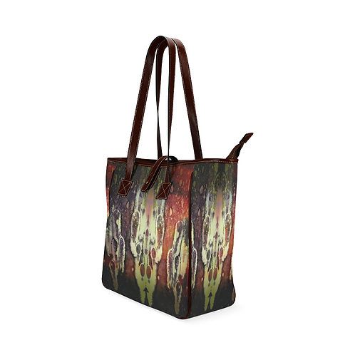 Red Sky Wide Tote