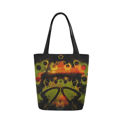 Many-Moons Canvas Tote