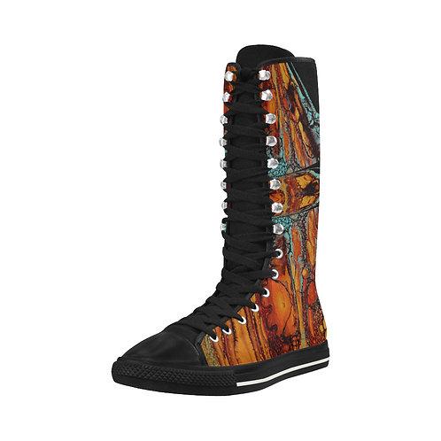 Southwest Sunset - Tall Boots