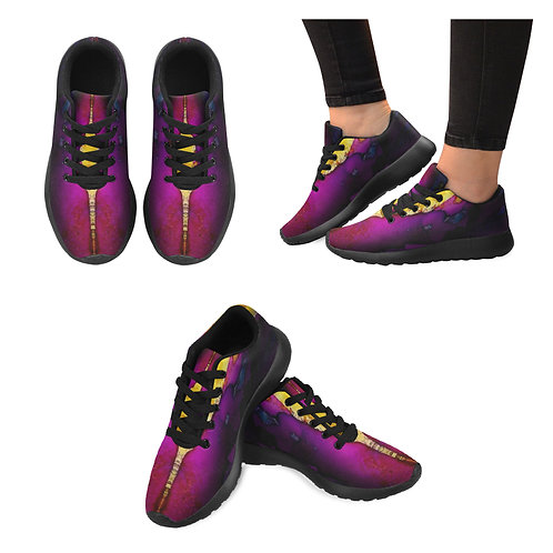 Chakra Flame Running Shoes