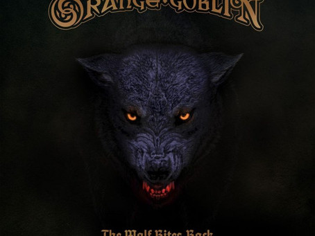 ORANGE GOBLIN — THE WOLF BITES BACK (2018, Candlelight Rec.)