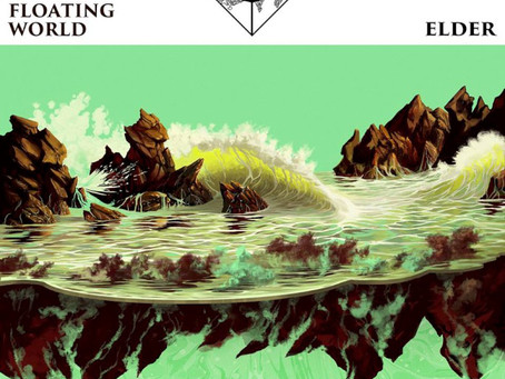 CSBR Review. Elder - Reflections of a Floating World (2017, Stickman Records)