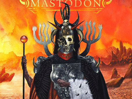 CSBR Review. Mastodon - Emperoe of Sand (2017, Warner Bros. Records)
