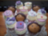 girls bithday cupcakes