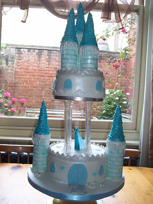 Princess Castle Birthday Cake