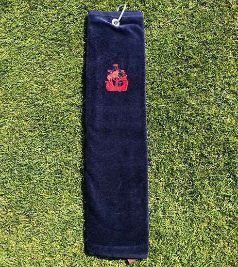 Red Ship Towel