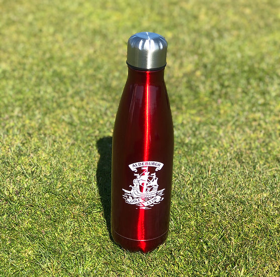 AGC Water Bottle Red