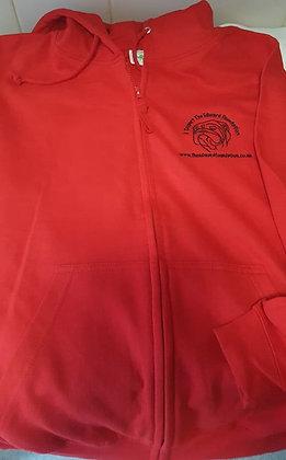 "RED Edward Foundation Zip Up Hoodie ""UNISEX"""