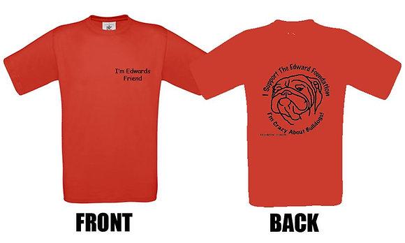 """RED Edward Foundation TShirts """"UNISEX"""""""