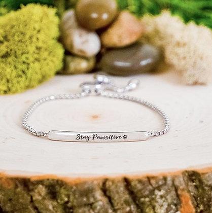 Stay Pawsative Bracelet