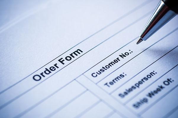 pen writing on order form..jpg