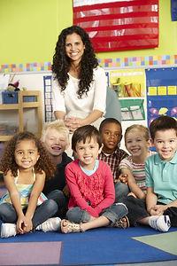 Group Of Elementary Age Schoolchildren I
