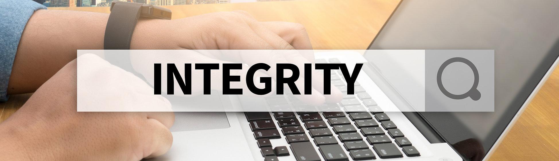 INTEGRITY   Ethics Loyalty Moral Motivat