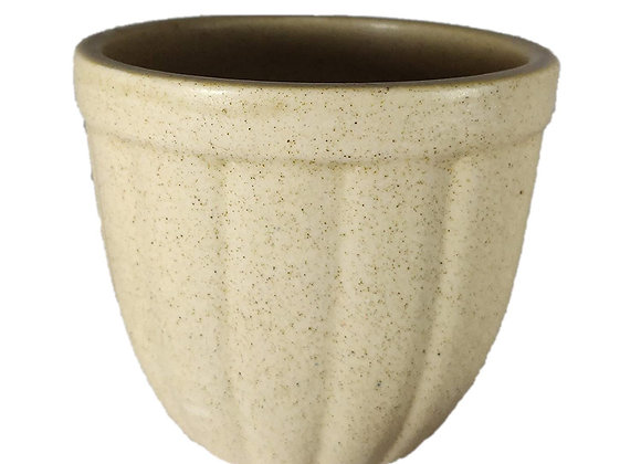 UrbanRoots Marble Finish Ceramic Pot (Khaki)