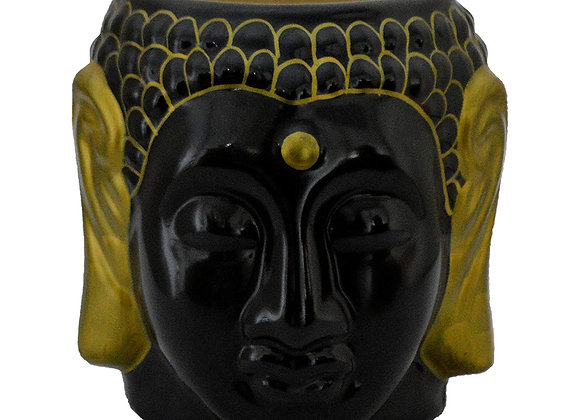 UrbanRoots Figurine Ceramic Planter (6 inch) (Black)