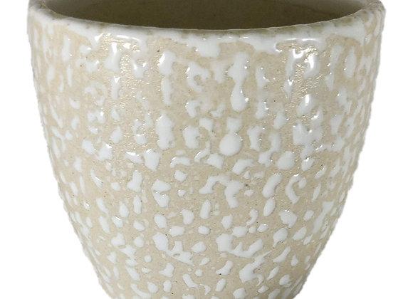 UrbanRoots Drop Texture Ceramic Planter (4 inch)
