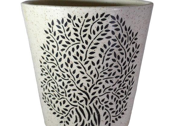 UrbanRoots Glass Shape Large Ceramic Pot