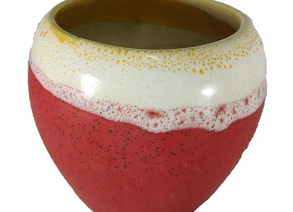 UrbanRoots Small Apple Ceramic Pot