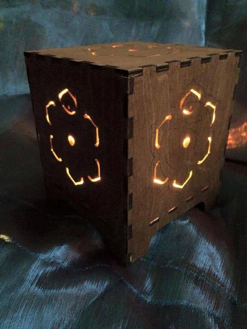Sacral Chakra Lamp | www.laser.scot/solsticelaserdesigns (hand ...