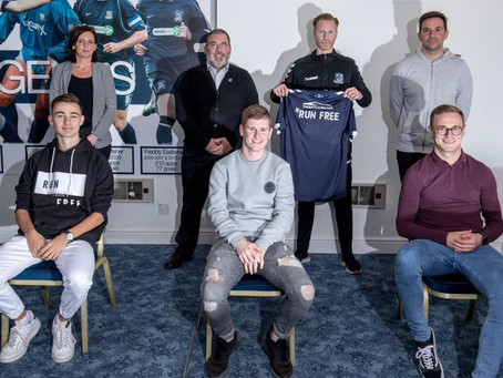 RunFree announce partnership with Southend United