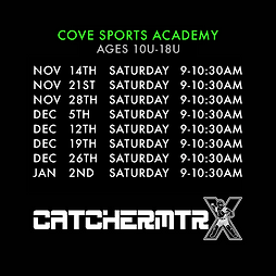 CATCHERMTRX - SESSION I - COVE SPORTS AC