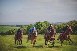 At the gallops