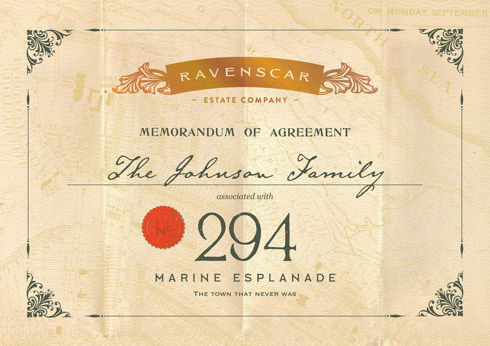 Ravenscar certificate in detail