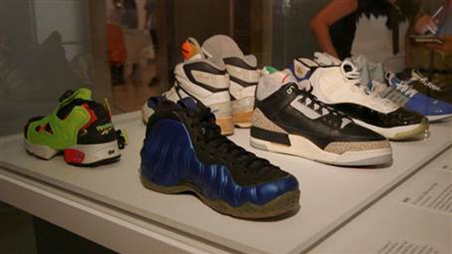The Art of Sneakers on full display at the Brooklyn Museum