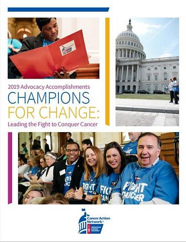 2019 ACS CAN Advocacy Accomplishments Report