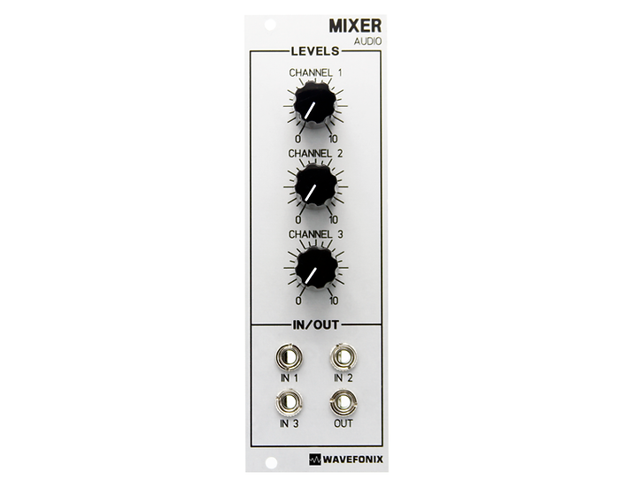 3-Channel Audio Mixer