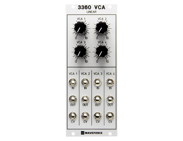 3360 Quad Linear VCA