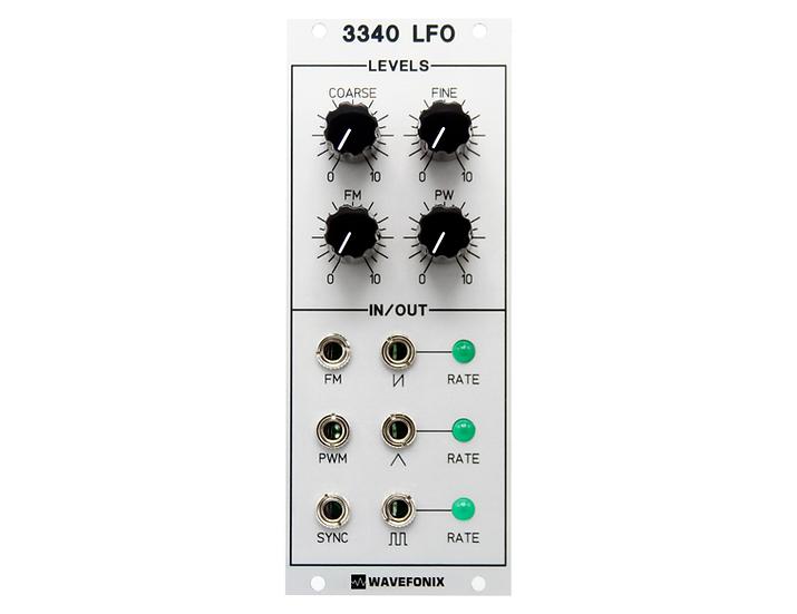 3340 Low-Frequency Oscillator (LFO)