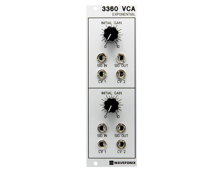 3360 Dual Exponential VCA