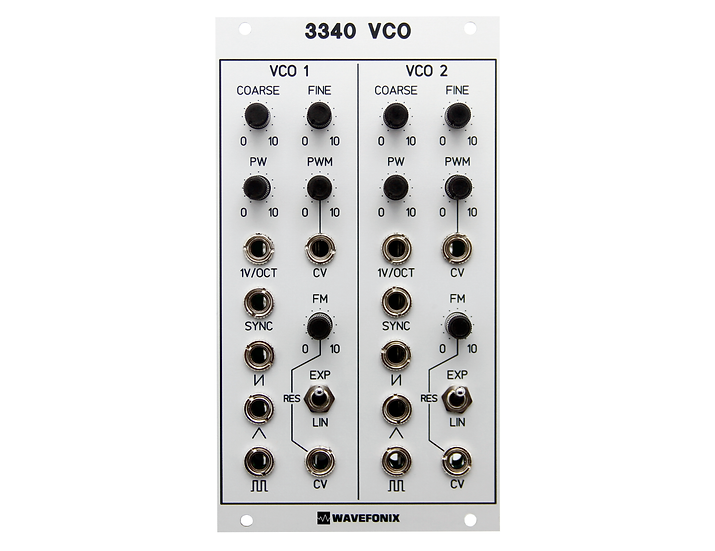 3340 Dual Voltage-Controlled Oscillator (VCO)