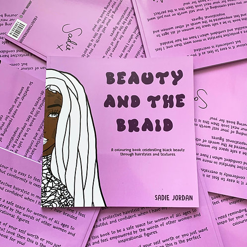 Beauty and the Braid Colouring Book