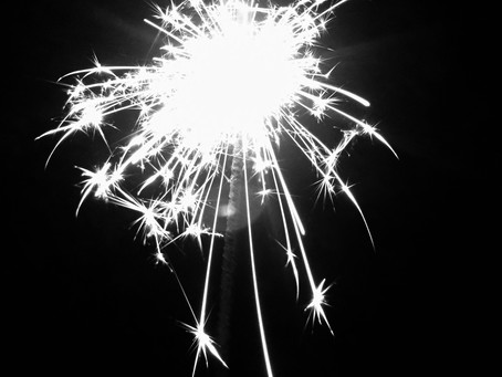 Happy New Year! Sparklers