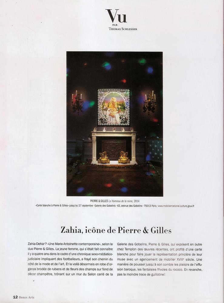 Pierre & Gilles-Beaux Arts Magazine