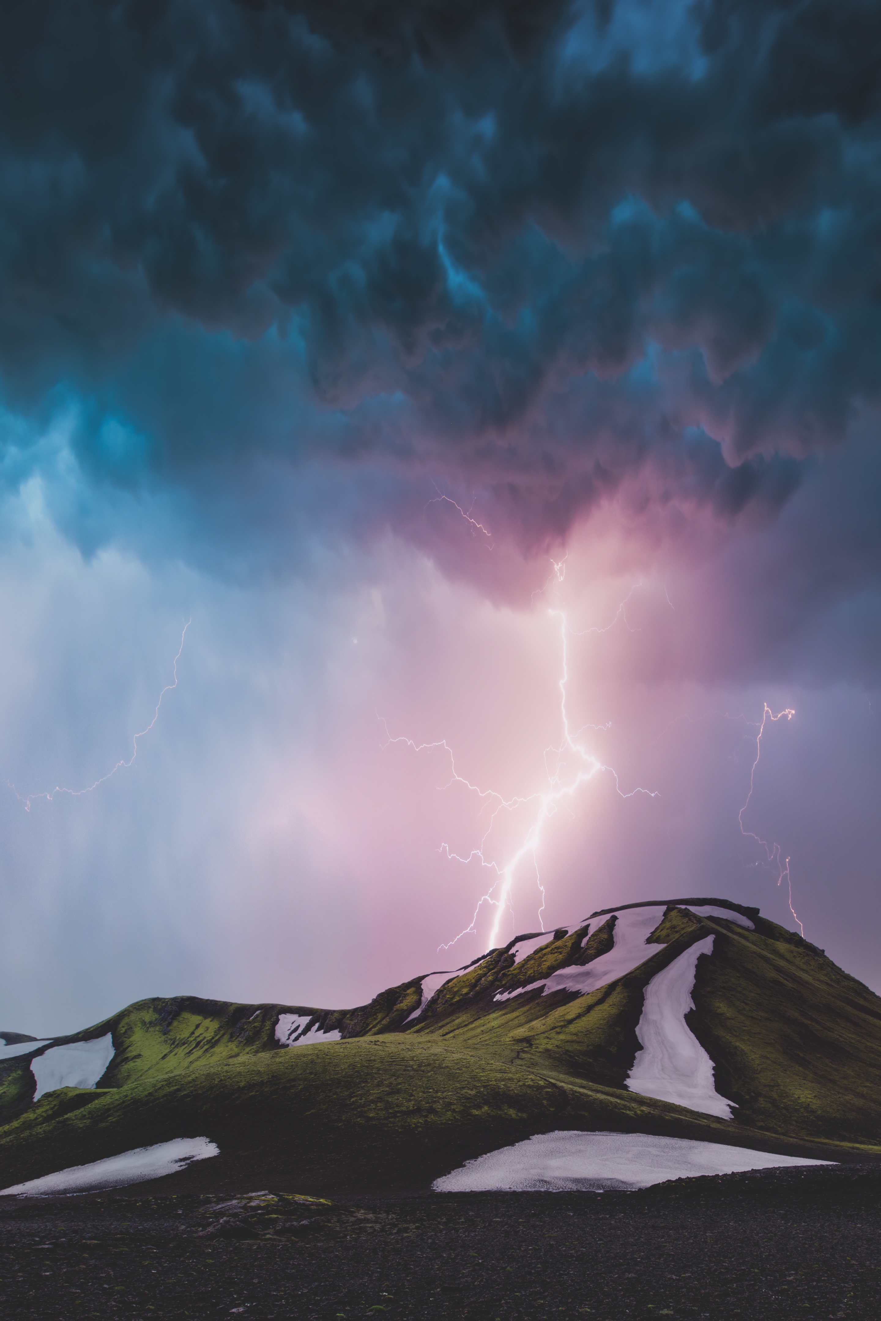 Thunder in Iceland
