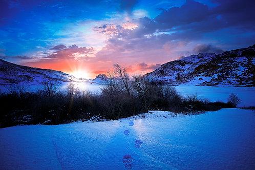 Snow Trace...