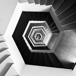 Escaliers en boucle