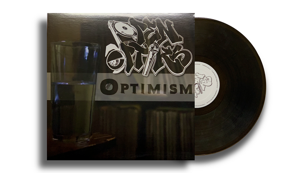 "Open Optiks ""Optimism"" LP Smoke"