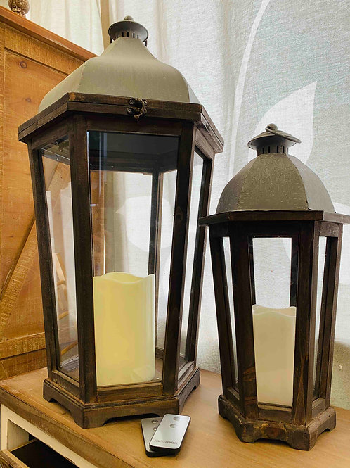 Coventry LED Lantern set of 2