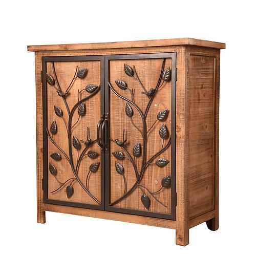 """Barclay, 2-Door Metal Frame 31.75"""" Cabinet"""