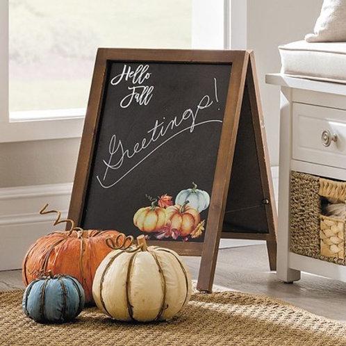 Hello Fall Chalk Board